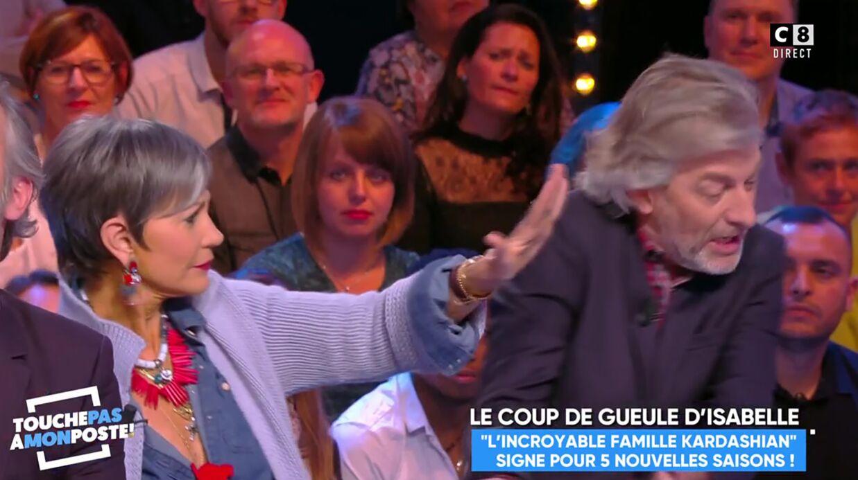 VIDEO Excédée par Gilles Verdez, Isabelle Morini-Bosc lui met une baffe