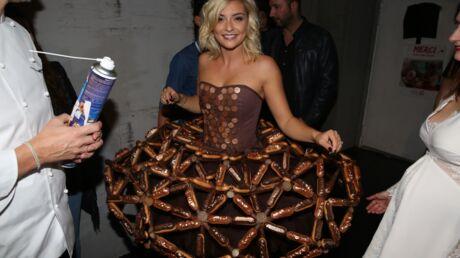 PHOTOS Hapsatou Sy glamour, Priscilla Betti craquante pour la défilé du Salon du Chocolat