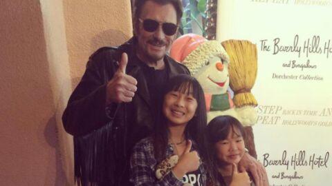 Johnny Hallyday dévoile une photo souvenir craquante avec sa fille Joy