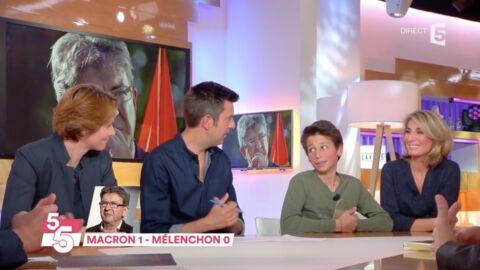 VIDEO Jean-Luc Mélenchon: les enfants d'Au tableau balancent sur son comportement