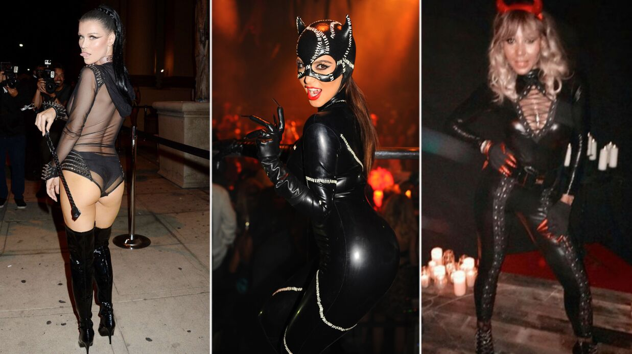 PHOTOS Cathy Guetta, Kim Karda­shian, Joanna Krupa… Les costumes d'Hal­lo­ween les plus sexy