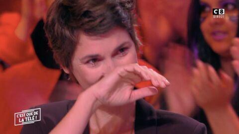 VIDEO Églantine Éméyé en larmes après un bel hommage de Julien Courbet