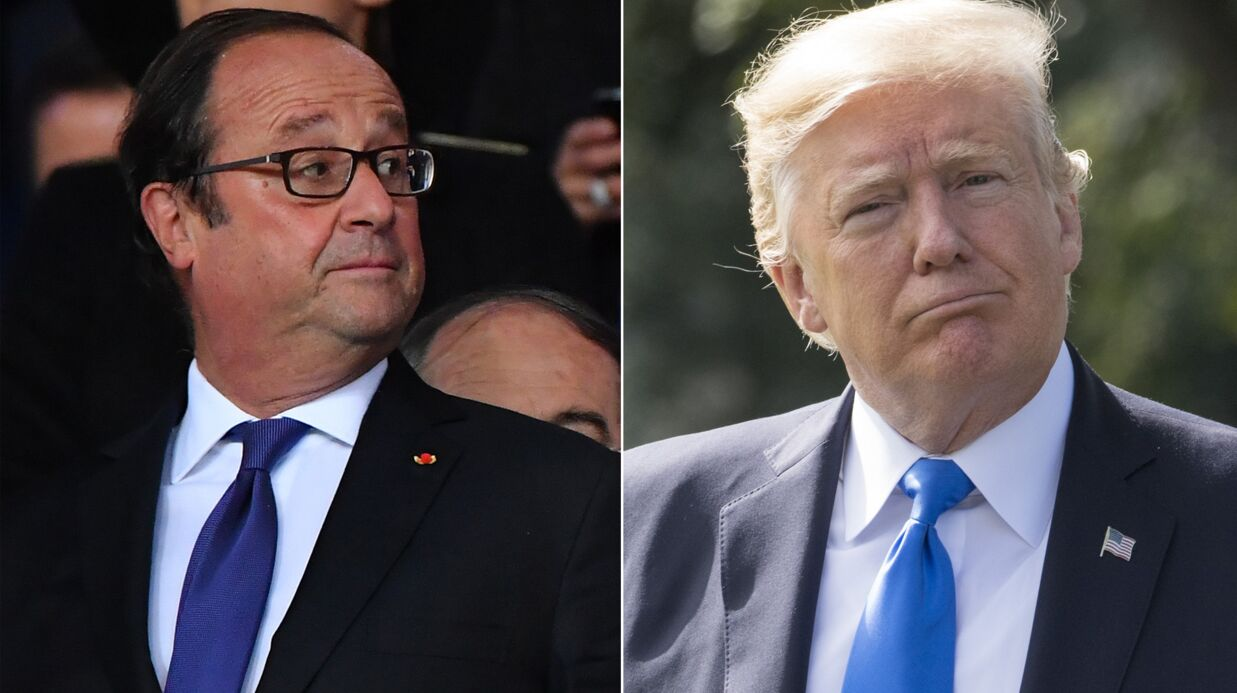Le premier coup de fil HALLUCINANT que Donald Trump a passé à François Hollande révélé