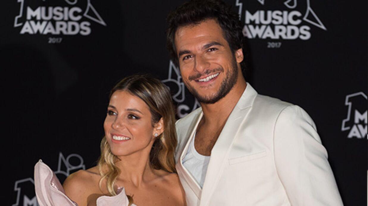 PHOTOS NRJ Music Awards 2017: Amir et sa femme Lital radieux pendant la cérémonie