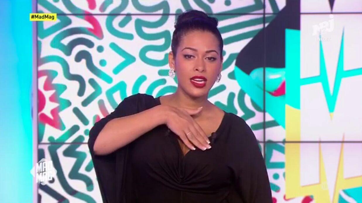 VIDEO Ayem Nour commente son surprenant décolleté aux NRJ Music Awards