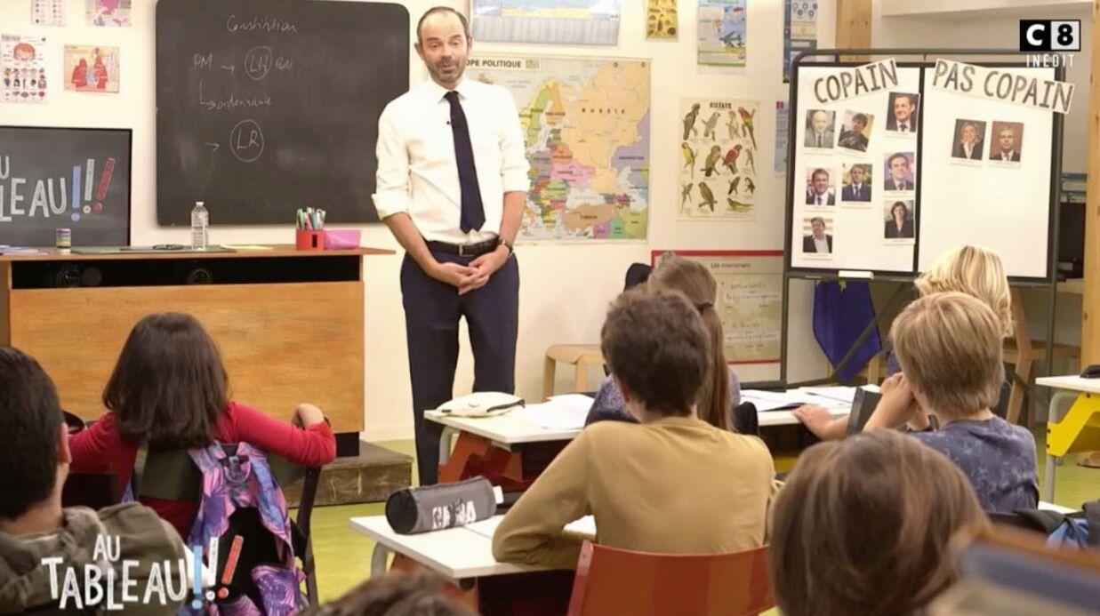 VIDEO Edouard Philippe: sa réponse sèche aux enfants qui l'interrogent sur sa femme