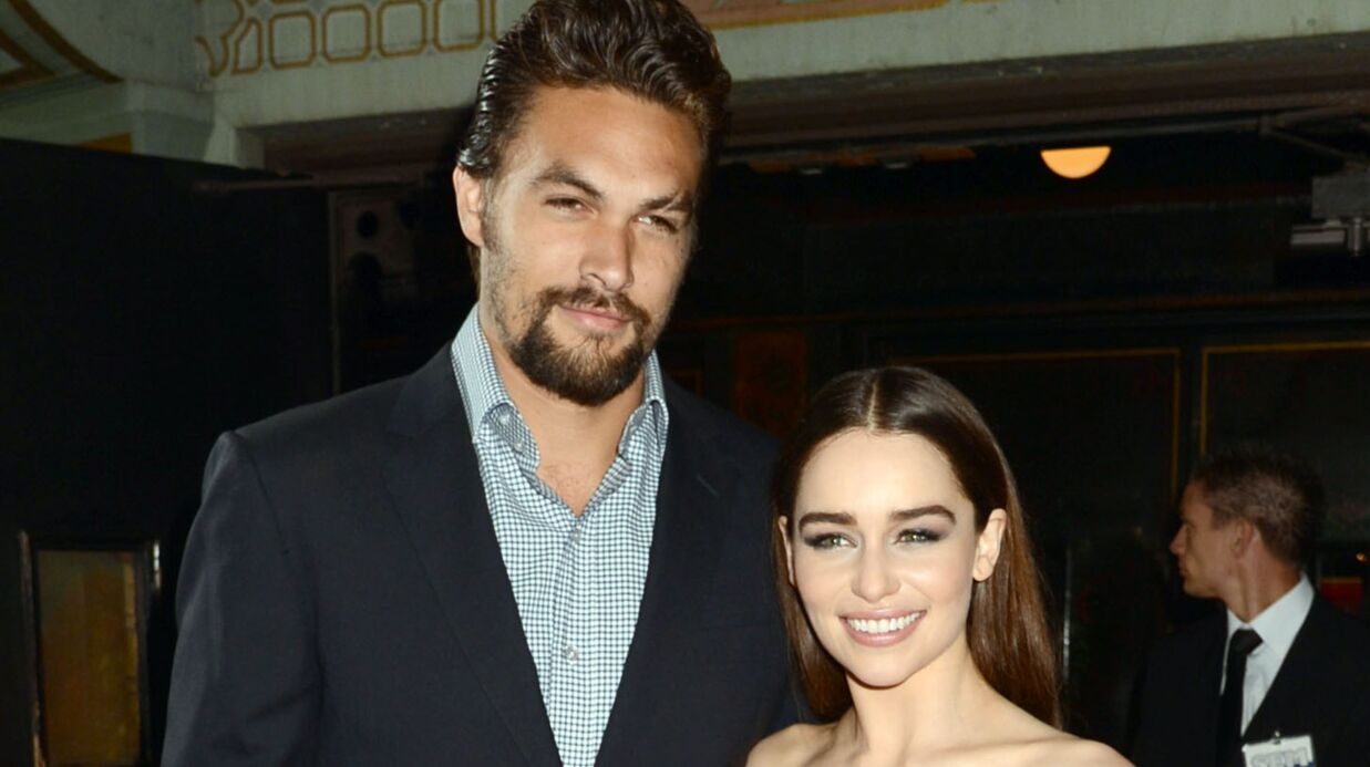 PHOTOS Game of Thrones : Emilia Clarke et Jason Momoa (alias Daene­rys et Khal Drogo) ravis de se revoir