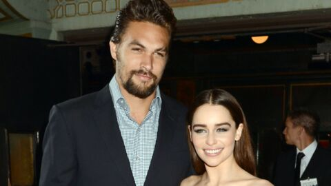 PHOTOS Game of Thrones : Emilia Clarke et Jason Momoa (alias Daenerys et Khal Drogo) ravis de se revoir