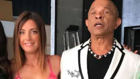 PHOTO Eve Angeli et Francky Vincent lancent une émission de divertissement