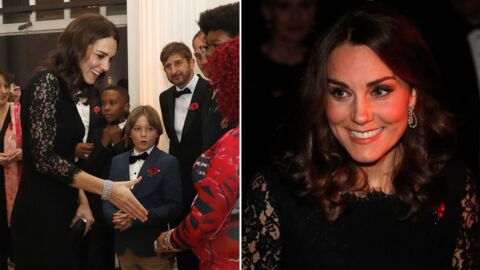 PHOTOS Kate Middleton enceinte : en robe de soirée, elle affiche un ventre joliment arrondi