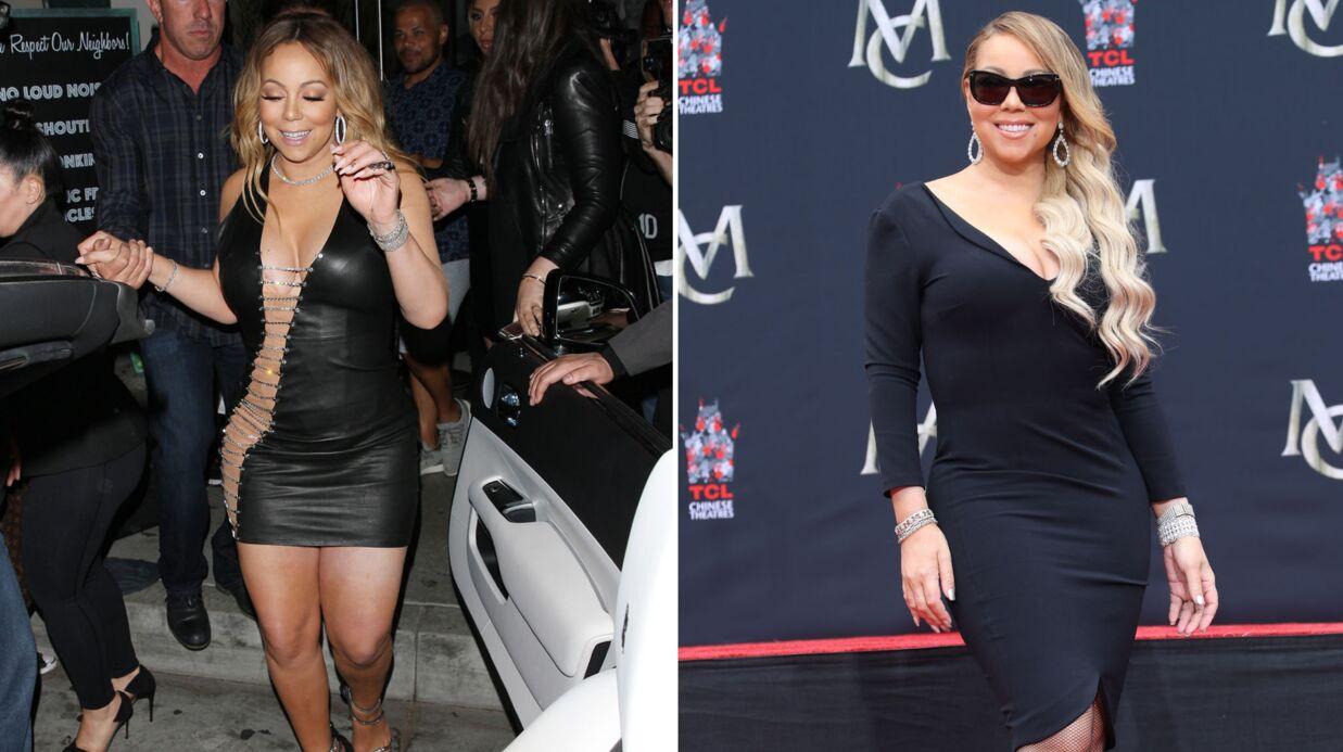 PHOTOS Mariah Carey: son impressionnante perte de poids suite à son opération de réduction de l'estomac