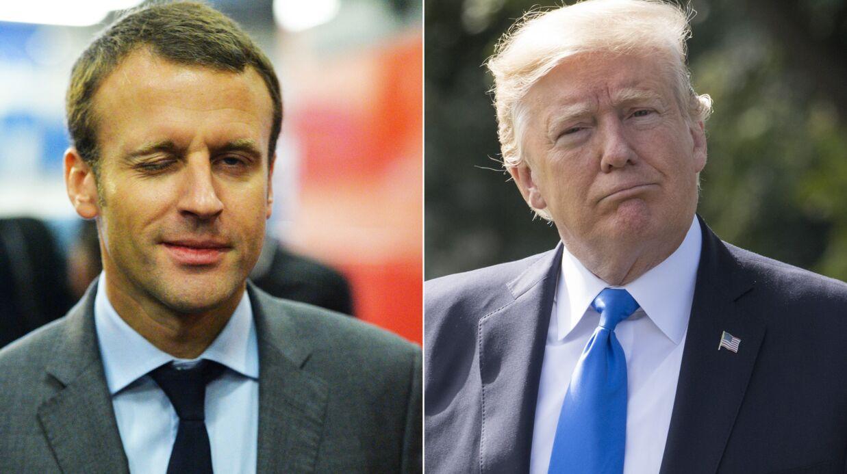 Le tacle subtil d'Emmanuel Macron à Donald Trump lors de son interview à Time Magazine