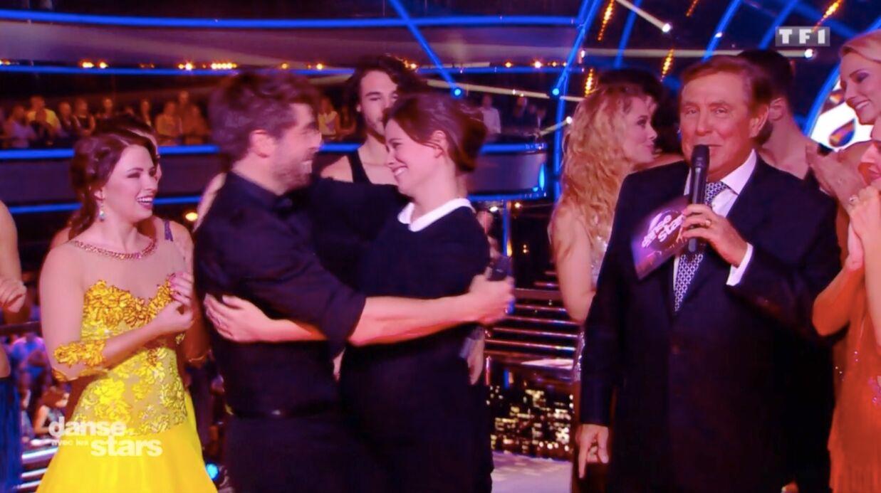 VIDEO Lucie Lucas dévoile son baby bump sur le plateau de Danse avec les stars