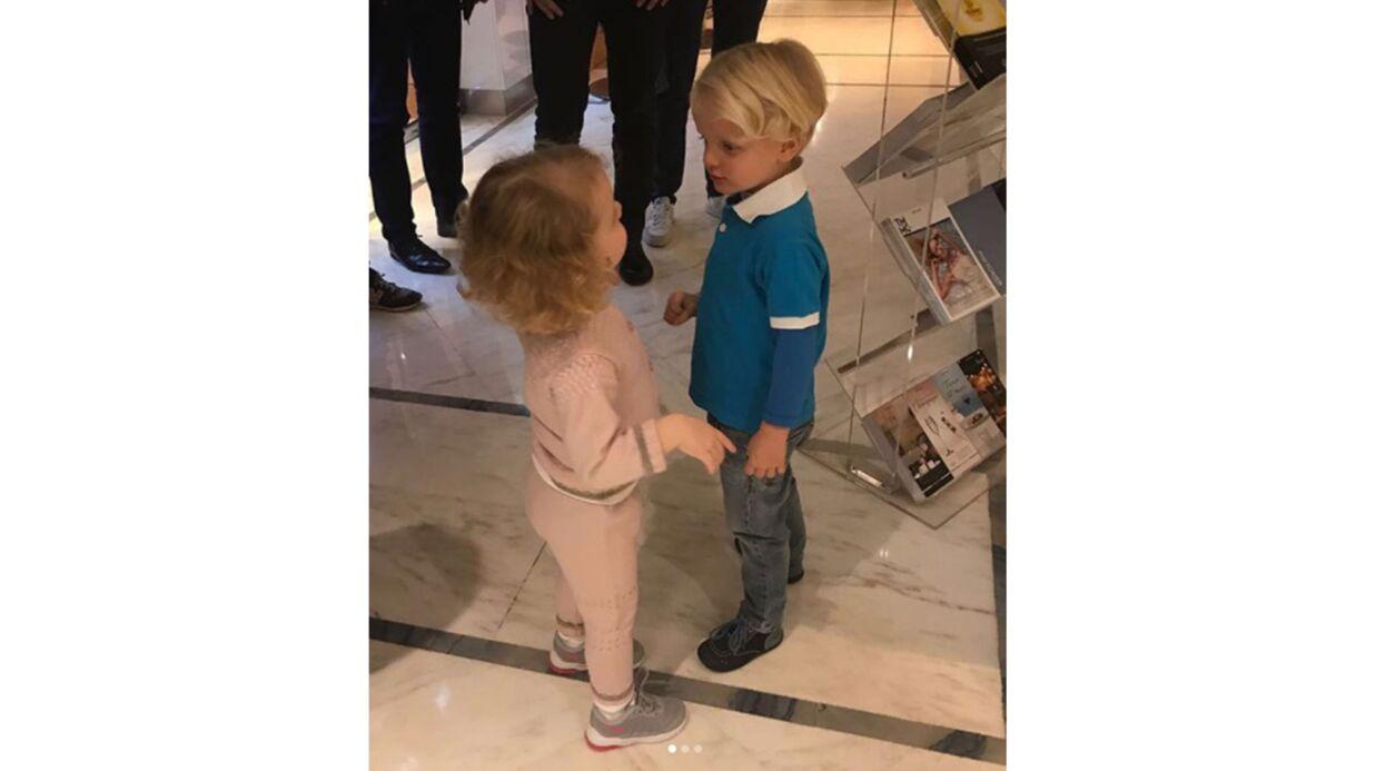 Charlène de Monaco: les adorables photos du premier passage chez le coiffeur de ses jumeaux