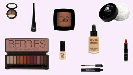 Bon plan: j'ai testé le maquillage à petits prix BYS