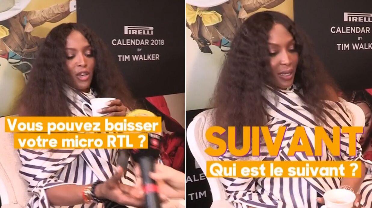 VIDEO Les TERRIBLES caprices de diva de Naomi Campbell pour la promo du calendrier Pirelli