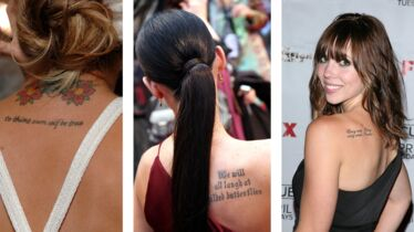 Tattoo, des mots à fleur de peau!