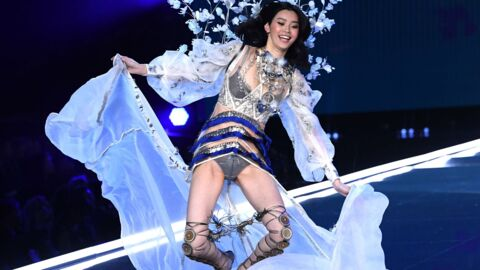 PHOTOS Victoria's Secret Fashion Show 2017 : la grosse gamelle du mannequin Ming Xi
