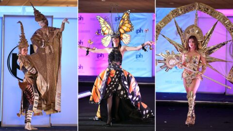 PHOTOS Papillon géant, viking, vampire… les costumes les plus WTF de Miss Univers 2017