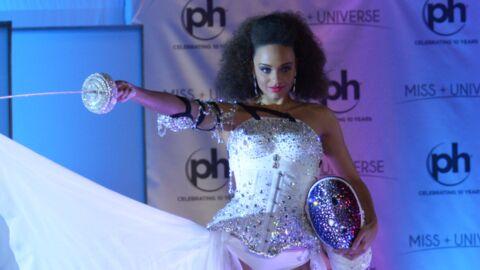 PHOTOS Miss Univers: l'étonnante tenue d'Alicia Aylies pour le défilé en costumes nationaux