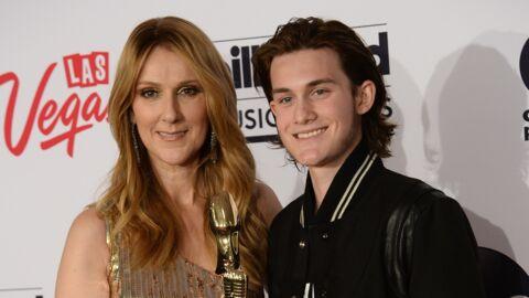 Céline Dion: son fils René-Charles s'est laissé pousser la moustache!