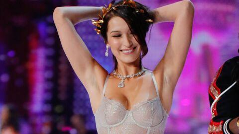 PHOTOS Défilé Victoria's Secret: Bella Hadid laisse échapper ses tétons sur le podium
