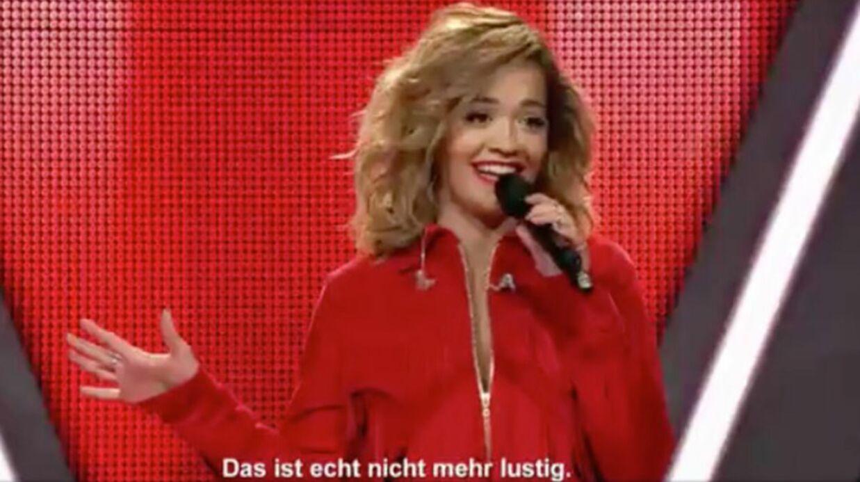 Rita Ora participe à The Voice of Germany: le jury ne la reconnaît pas