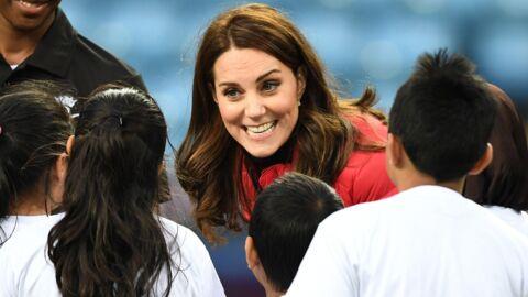PHOTOS Kate Middleton enceinte: son baby bump se voit de plus en plus