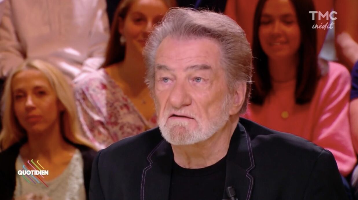 VIDEO Eddy Mitchell évoque le carac­tère de battant de son « frère » Johnny Hally­day