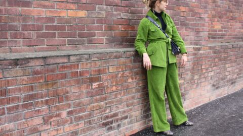 Comment porter un pantalon en velours? Le défi de Virginie