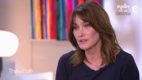 VIDEO Carla Bruni-Sarkozy très émue en évoquant le décès de son grand frère