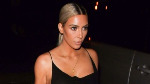 Kim Kardashian pose nue, le corps recouvert de paillettes