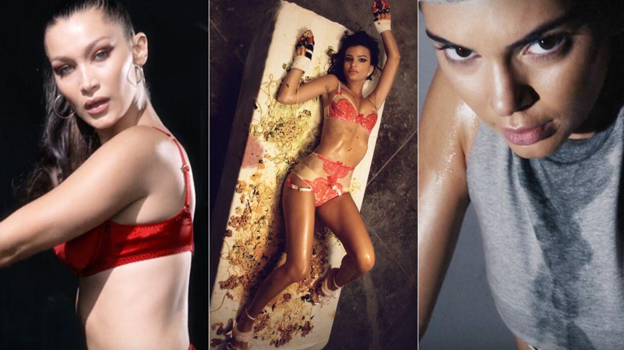 Bella Hadid et Emily Ratajkowski en lingerie, la vidéo teaser SUPER sexy du calendrier de l'avent LOVE Magazine