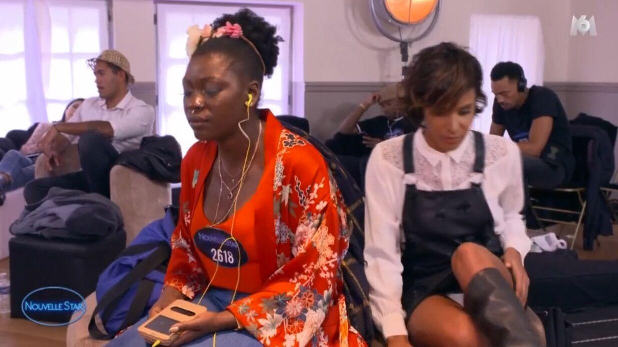 VIDEO Nouvelle Star: Shy'm dévoile malencontreusement sa petite culotte