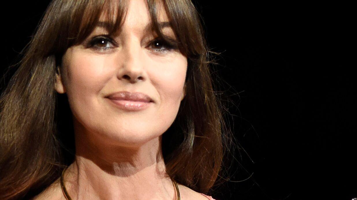 Monica Bellucci très TRES décolletée à ses débuts, la photo sexy