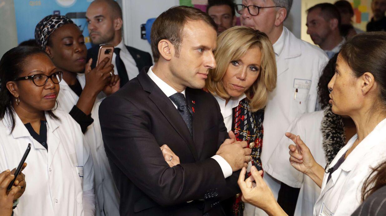 La petite erreur d'Emmanuel Macron en visite à l'hôpital pour la journée mondiale de lutte contre le sida