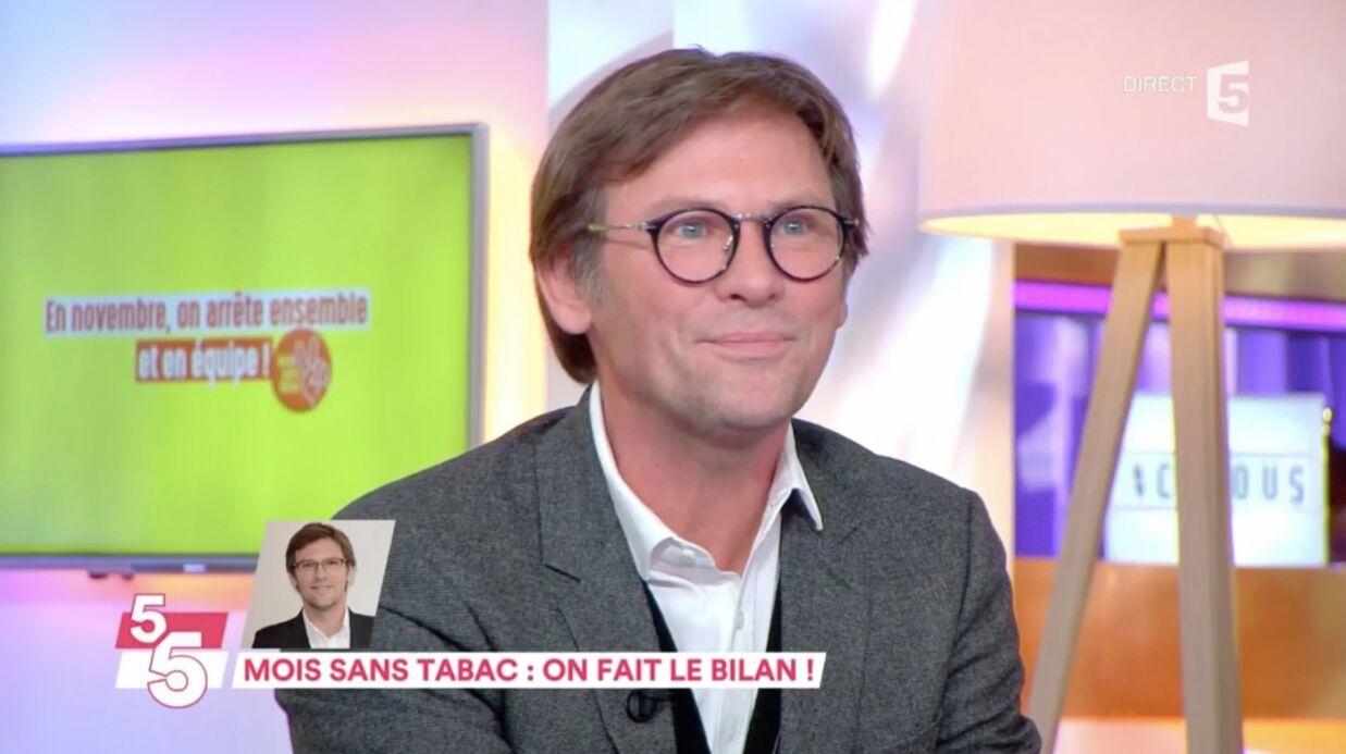 VIDEO Après un mois sans fumer, Laurent Romejko avoue avoir pris du poids