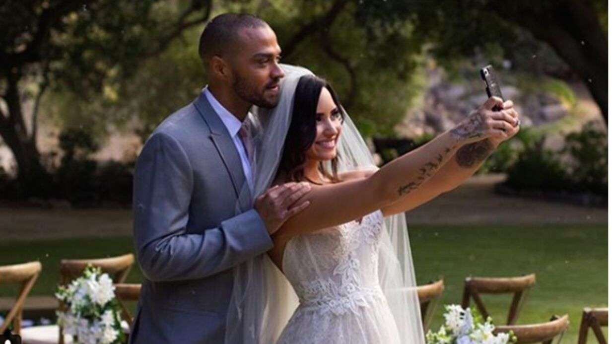 VIDEO Demi Lovato presque mariée à Jesse Williams (Grey's Anatomy) dans le clip de Tell Me You Love Me