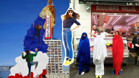Qui est Samia Ziadi, la créatrice de mode à l'origine du projet République?