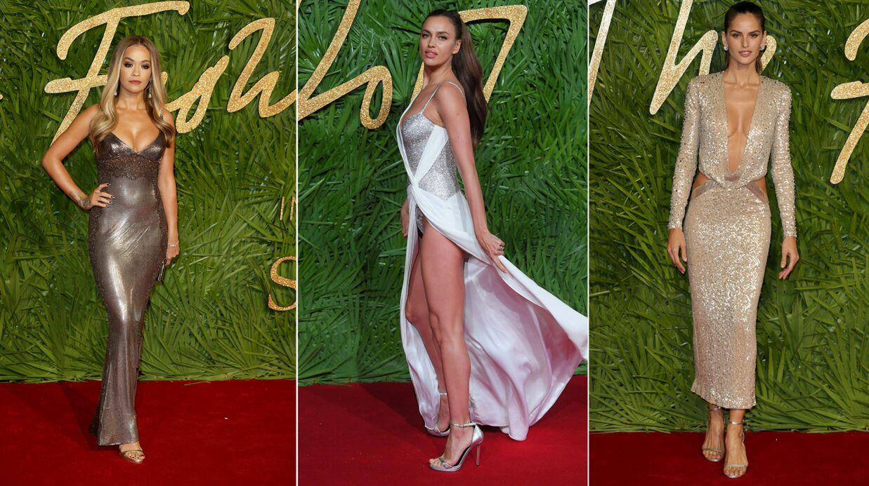 PHOTOS Irina Shayk en montre trop, Rita Ora sublime aux Fashion Awards 2017