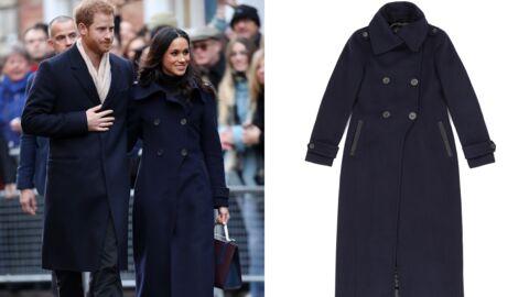 Meghan Markle: le manteau de sa première sortie officielle est AUSSI en rupture de stock