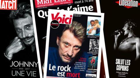 PHOTOS: Mort de Johnny Hallyday: découvrez les plus belles unes de la presse