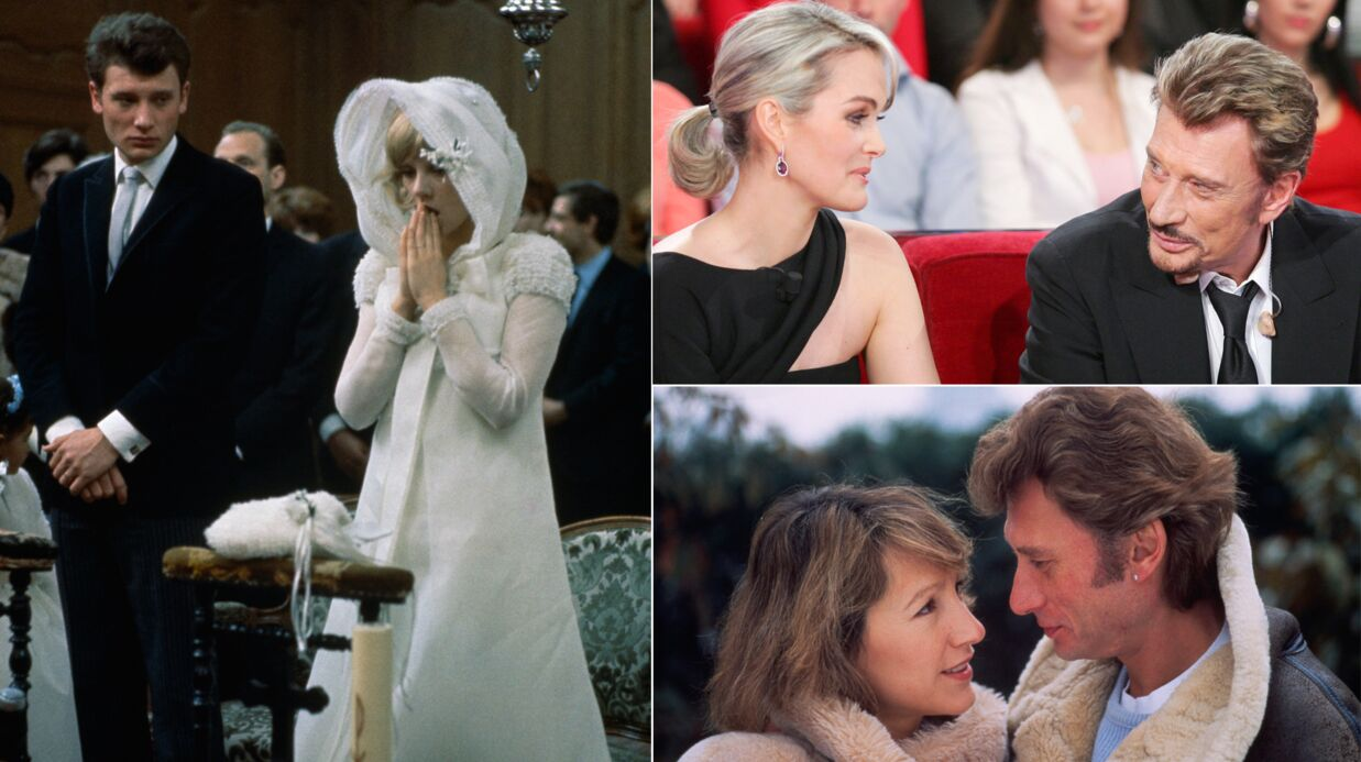 Mort de Johnny Hallyday: ses plus belles photos avec les femmes de sa vie