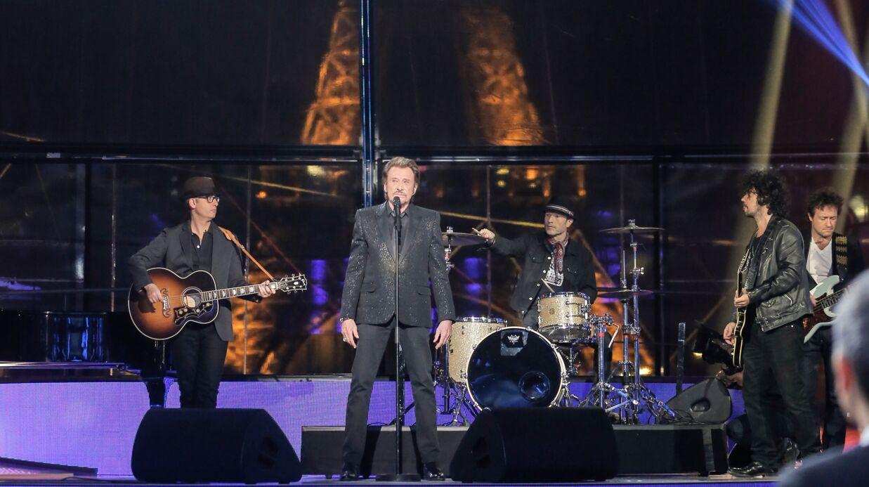 Mort de Johnny Hallyday: un message de remerciement sera projeté sur la Tour Eiffel et sur Bercy