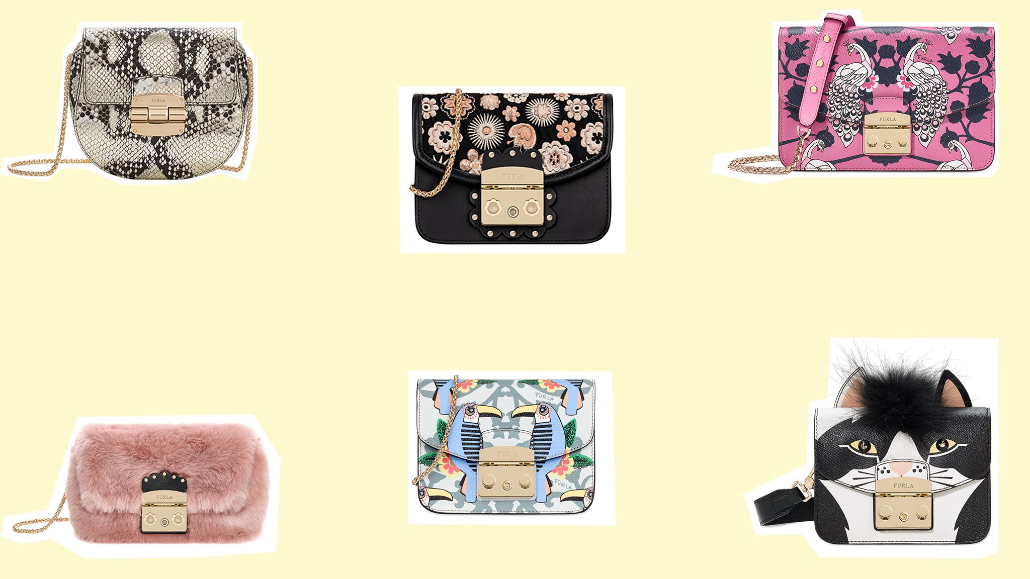 f980a05736c Furla   découvrez les six sacs de la toute nouvelle collection Croisière !  - Voici