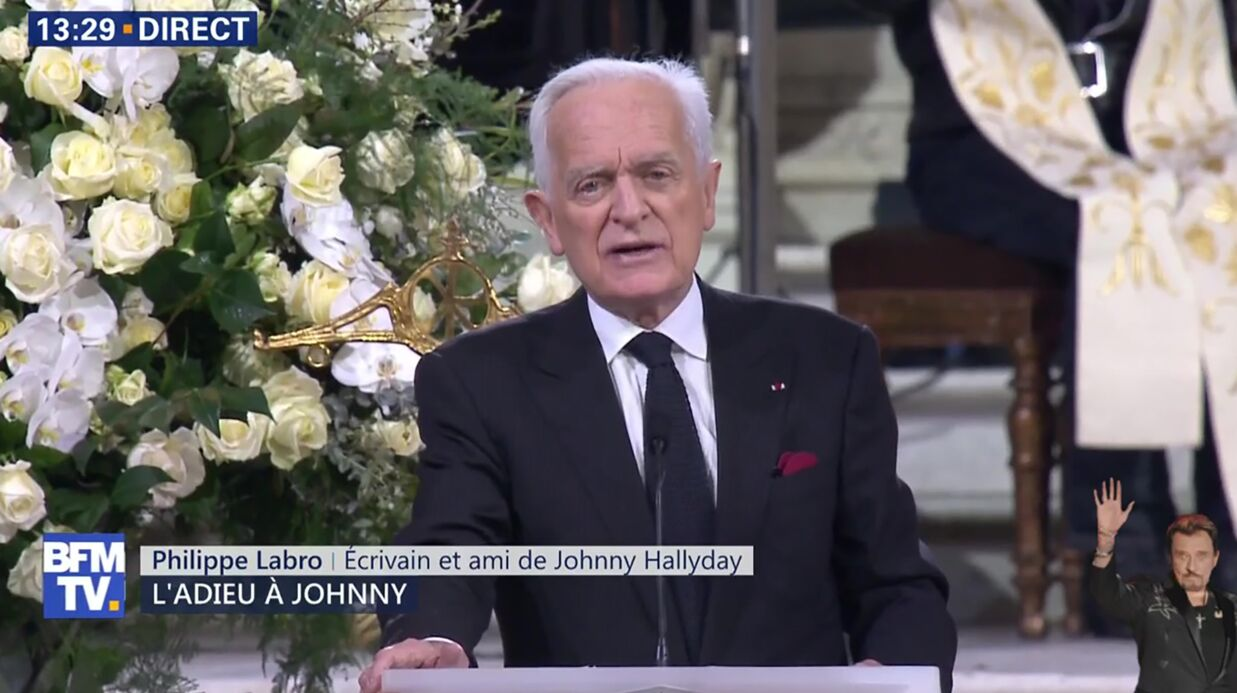 Hommage à Johnny Hally­day : son ami Philippe Labro raconte ses tout derniers instants