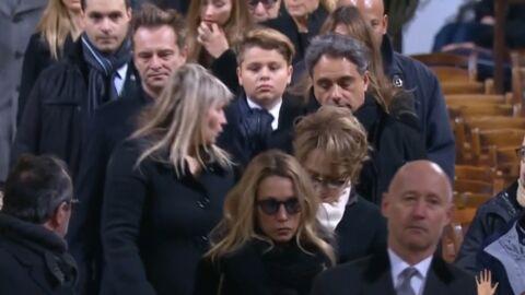 Mort de Johnny Hallyday: David, Laura, Nathalie, Estelle sont arrivés dans l'église de la Madeleine