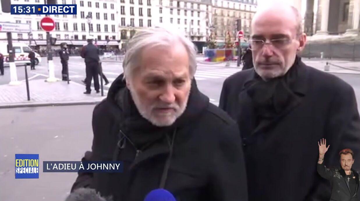 VIDEO La vilaine gaffe de Jean-Jacques Debout lors de l'hommage à Johnny Hallyday