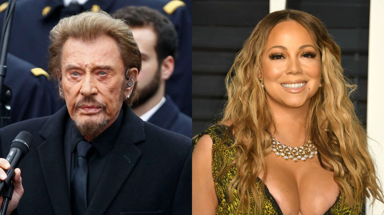 Mariah Carey rend hommage à Johnny Hallyday en reprenant Que je t'aime