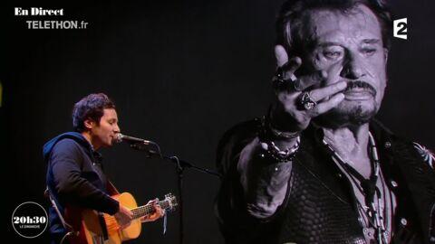 VIDEO Mort de Johnny Hallyday: Vianney lui rend un hommage vibrant